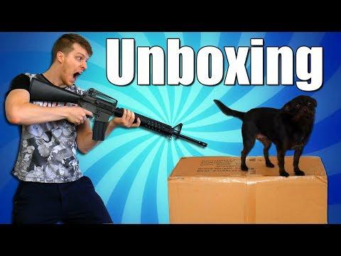Unboxing Obří Krabice se Zvrtl !!! - Nakashi [CZ]