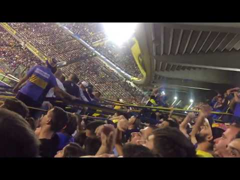 """""""Y vamos Boca no podemos perder - Boca vs San Martín (SJ) - Superliga primera división 2017/18"""" Barra: La 12 • Club: Boca Juniors • País: Argentina"""