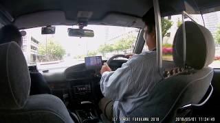 帝都自動車交通・タクシー乗務員体験教習取材