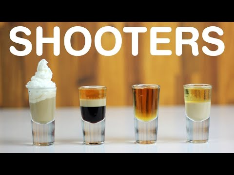 BEST SHOT RECIPES vol. 1 – Drinking Shooters for 100k subs!!