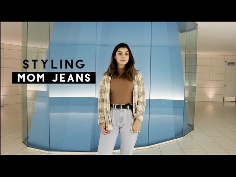 How I style Mom Jeans | 4 ways