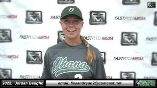 2022 Jordan Baughn Pitcher Softball Skills Video - Ohana Tigers