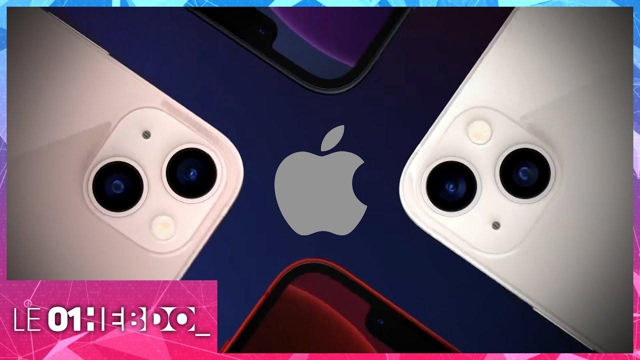 01Hebdo #324 : au coeur des technologies de l'iPhone 13
