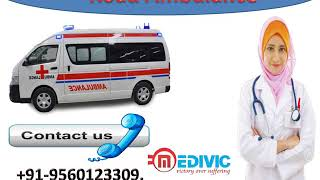 Hire High-Class Road Ambulance Service in Ranchi and Jamshedpur by Medivic
