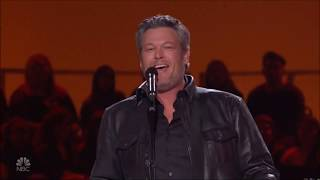 "Blake Shelton sings ""Suspicious Minds"" Live in Concert Elvis Tribute 2019 HD 1080p"