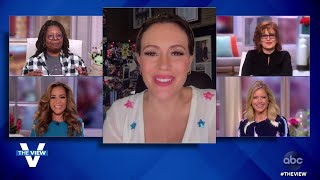 The View | Alyssa Milano Shares About COVID-19 Recovery and New Book