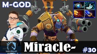 Gambar cover Miracle - Tinker MID | M-GOD | Dota 2 Pro MMR Gameplay #30