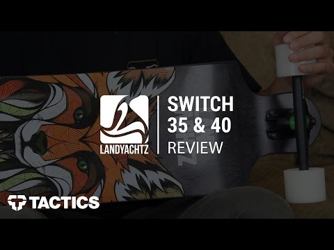 Landyachtz Switch 35″ & 40″ Complete Longboard Review – Tactics.com