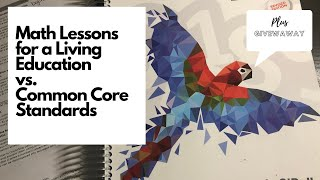 Master Books Math Lessons For A Living Education Level 3 Vs. Common Core Standards