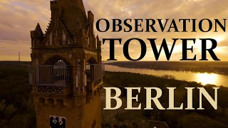 Observation Tower and Royal Memorial in Berlin (Grunewaldturm) | FPV