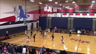 Manvel HS Lady Mavericks vs Shadow Creek HS Lady Sharks JV Basketball 2018