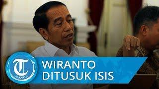 Jokowi Katakan Menkopolhukam Wiranto Ditusuk Pisau oleh Teroris ISIS Jaringan JAD