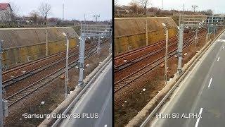 Samsung S8 PLUS vs iHunt S9 Alpha (test video)