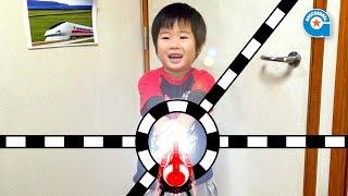 ハッピーセットのトッキュウジャー第1弾【がっちゃん5歳】トッキュウチェンジャーとトッキュウバックル