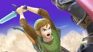 High Level Link Gameplay in Smash Ultimate
