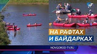 В Окуловском районе стартовал 12-й сплав инвалидов по Мсте