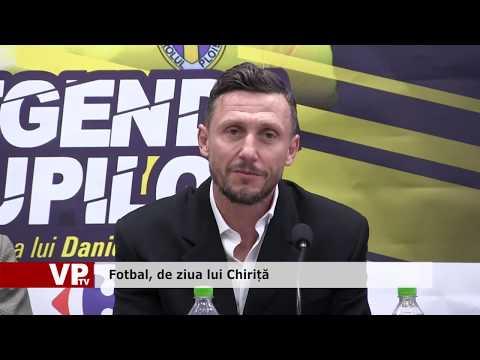 Fotbal, de ziua lui Chiriță