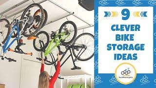 9 Clever Bike Storage Ideas