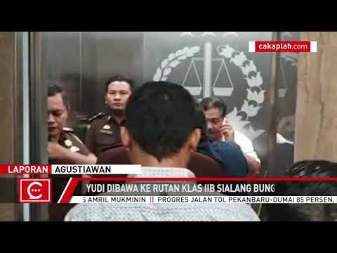 Dugaan Korupsi Dana Hibah, Eks Anggota DPRD Bengkalis Ditahan Jaksa