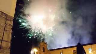 preview picture of video 'Spettacolo Pirotecnico Settimana Santa Caltanissetta 2015.'