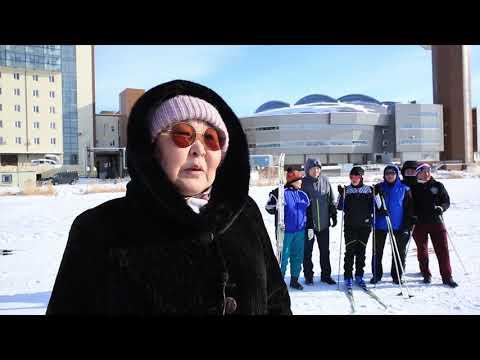 В рамках акции «Сообщи, где торгуют смертью!» ветераны органов внутренних дел Якутии организовали лыжный пробег