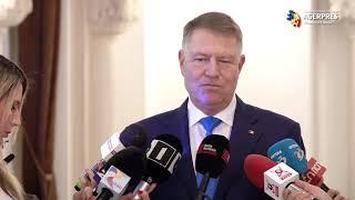 Iohannis: Pentru o administraţie eficientă, e nevoie de restructurări; îngheţarea salariilor, oportună