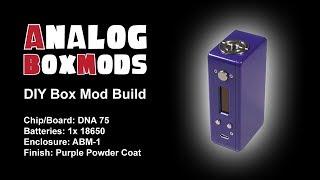 DNA 75/75c, 1x18650/1x20700 ABM-1 Enclosure DIY Box Mod Build