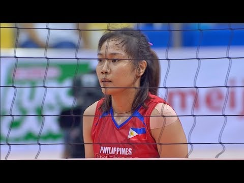 [Sport5]  Mylene Paat on target | 6th Asian Women's Volleyball Cup 2018