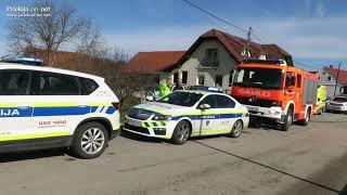 Trčenje vlaka in osebnega vozila v Borecih