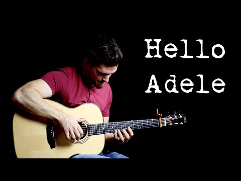 Hello - Adele  | Fingerstyle Guitar Interpretation
