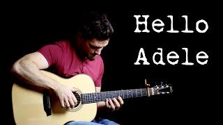 Hello - Adele  | Fingerstyle Guitar Interpretation
