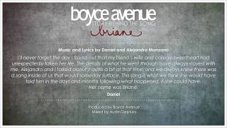‪Boyce Avenue - Briane (Story Behind The Song)