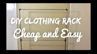 DIY Clothing Rack!