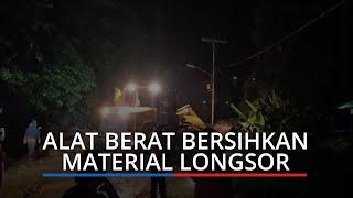 Update Longsor di Lubuk Paraku Padang, Satu Kendaraan Dihantam Material Batu dan Tanah