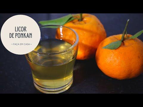 Licor de Ponkan (casca)