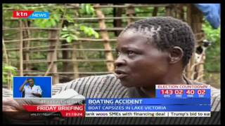 5 fishermen die after a boat capsized off Lake Victoria in Budalangi-Busia County