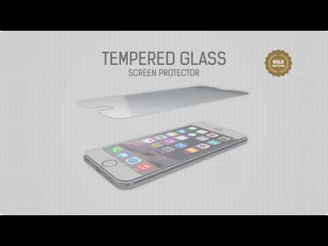 GEAR Härdat Glas 2.5D iPhone6/7/8/SE