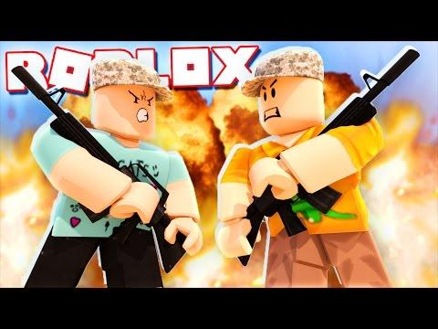 Roblox Adventures - DENIS & SKETCH GO TO WAR IN ROBLOX! (World War 2 Simulator)