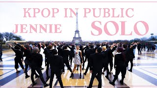 [KPOP IN PUBLIC PARIS] JENNIE - SOLO Dance cover by RISIN'CREW (mixed ver.) from France