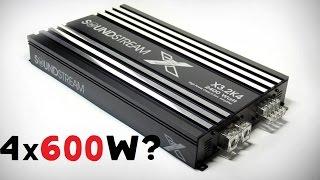 Самый мощный 4х-канальник? SOUND STREAM X3.2K4