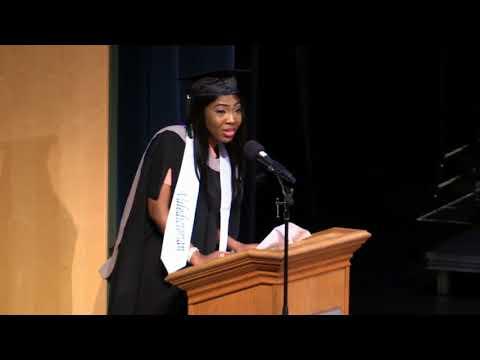 Valedictorian Pamela Hart, Master of Business Administration from VIU