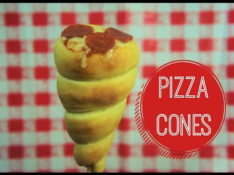 PIZZA CONES - BAKING DAY