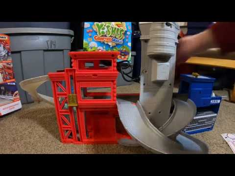 Matchbox Rescue Headquarters Playset with Lights and Sounds (Unboxing and Play Time)