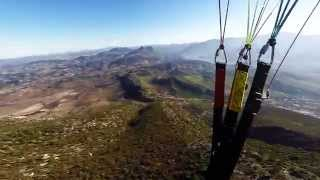 preview picture of video 'Paragliding in Algodonales, Spanien'