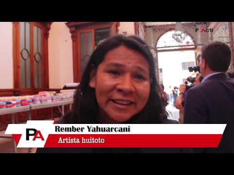 Entrevista a Rember Yahuarcani - Artista huitoto