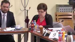 Grażyna Cholewa ZNP Kłobuck XI Sesja RM W Klobucku 23.06.2015