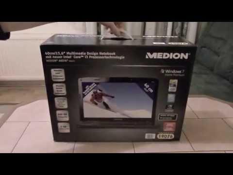Unboxing Medion Akoya P6622 Hofer PC Laptop
