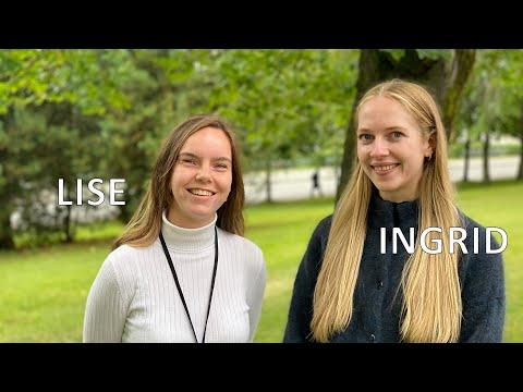 Industriell bioteknologi - Lise Klaksvik og Ingrid Vikan Sjurgard