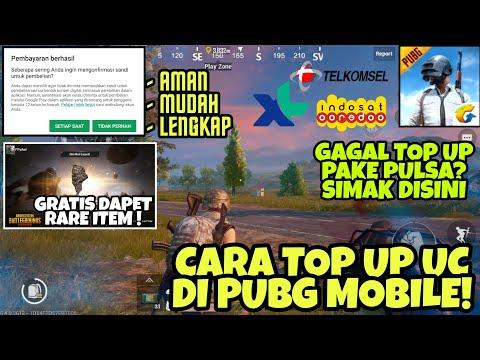Cara Mudah Top Up UC via Pulsa di PUBG MOBILE - Lengkap, Aman, 100% Berhasil