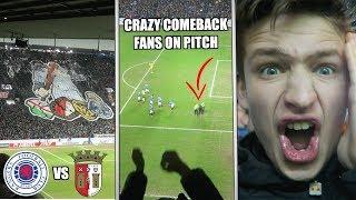 sport Rangers vs Braga filmat de un spectator